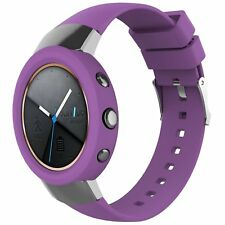 Silicone Band Wrist Strap + Case Cover Protector for ASUS ZenWatch 3 Smart Watch