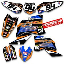 2009 - 2015 KTM SX 65 DIRT BIKE GRAPHICS MOTOCROSS DECAL 2011 2012 2013 2014