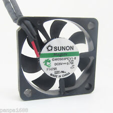 1pc SUNON MagLev GM0503PEV1-8 30x30x6mm 3006 DC 5V 0.7W 2pin DC Cooling fan