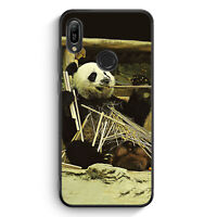 Cooler Panda Silikon Hülle für Huawei Y6s Motiv Design Tiere Lustig Witzig Sü...
