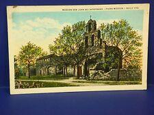 Mission San Juan De Capistrano 1926 Vintage Color Postcard PC7