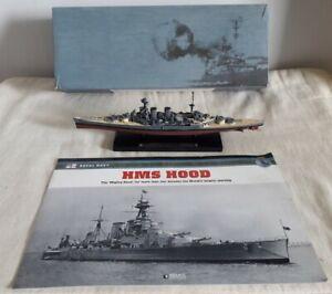 DeAgostini Atlas Editions Legendary Warships HMS Hood WW2 Battleship Boxed