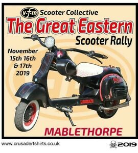2019 MABLETHORPE  NATIONAL SCOOTER RALLY PATCH BSRA MODS SKINHEADS