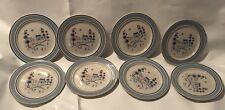 "Lot Of 8 Stonewareby Hearthside Stoneware 8"" Plates"