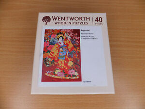 Wentworth Wooden Puzzles Agemaki By Haruyo Morita 40 Pieces Mini Jigsaw Puzzle