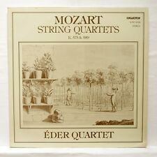 EDER QUARTET - MOZART string quartets no.21 & no.22 HUNGAROTON LP EX++