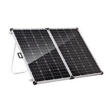 340W Folding Solar Panel Kit 12V Mono Caravan Camping Home RV Power Charging USB