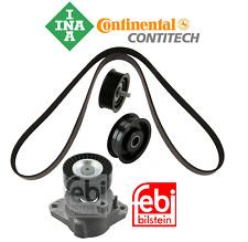 Belt Tensioner Assembly Idler Pulley Drive Belt Kit OEM Mercedes C300 E350 E550
