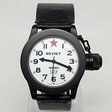 Gruen 1980s RARE Soviet Russian CCCP Diver watch 38mm Italian leather band