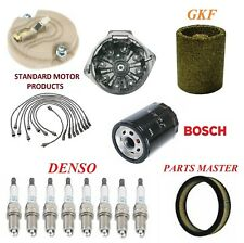 Tune Up Kit Filters Cap Wire Plugs For PONTIAC FIREBIRD V8 6.6L 2BBL 1973-1974