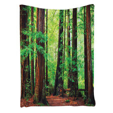 Tree Tapestry Woodland Bedroom Living Room Dorm Wall Hanging Tapestry Green B6Y5