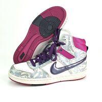 Nike Hyper Dunk Women Size 6.5 Hi Top Purple Pink Basketball Shoes Sneakers