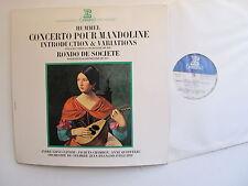 Hummel Concerto Pour Mandoline Erato STU 70700 1972 Gatefold sleeve