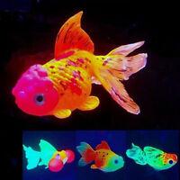 Artificial Goldfish Simulation Glow Water Fish Tank Aquarium Ornament Decoration