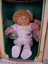 NIB 1984 Coleco Cabbage Patch Kid Gold Loops Girl
