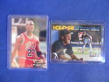 Michael Jordan Cards 2 ea Topps and Upper Deck