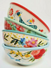 Pioneer Woman Dipping Bowls Set Of 4 Assorted