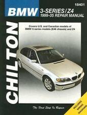 BMW 3-SERIES/Z4, 1999-05 Repair Manual Chilton's Total Car Care Repair Manuals