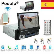 "Radio de coche 1DIN 7 ""HD Pantalla táctil retráctil DVD MP5 SD FM USB Bluetooth"