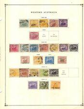 Kenr2: Western Australia Ukrainia Collection from 1840-1949 Scott Intern Albums