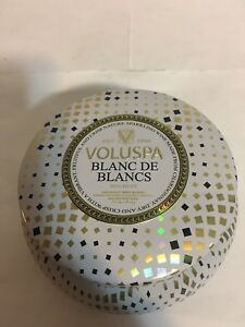 Voluspa Blanc de Blancs 2Wick Candle 11oz Holiday collection