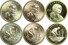 2009-P/D/S $1 Sacagawea/Native American Dollar 3 Coin Set Proof & Uncirculated