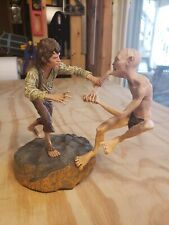 Sideshow Collectibles Lord of the Rings Frodo vs Gollum Crack of Doom Statue