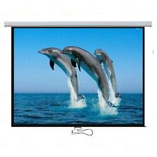 "Titan AV Premium 90"" Projector Screen - Manual Pull Down"