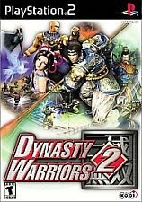 Dynasty Warriors 2 (Sony PlayStation 2, 2000) - Black Label - Complete