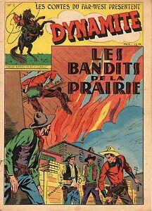 "DYNAMITE 2 ""LE BANDIT DE LA PRAIRIE"" ELAN 1947 TRES RARE"