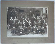 PHOTO ANCIENNE GROUPE ECOLE FILLES - J. DAVID & E. VALLOIS - CIRCA 1925/30