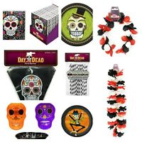Mexican Day of The Dead Halloween Parties Decor Sugar Skull Dia De Los Muertos