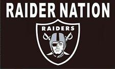 Las Vegas Raiders Raider Nation Premium 3x5 Flag Outdoor Banner Oakland Football