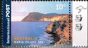 Maria Island Australis Nature view stamp 1999 MLH  A-1