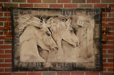 Gorgeous Horses Heads Wall Hanging
