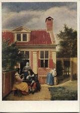 Old Art Postcard-Pieter De Hooch-above the door