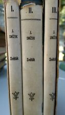 VINTAGE CZECH BOOK SET~3 VOLUMES IN SLIPCASE~SHIPS FREE