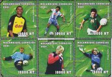Mozambique 1847-1852 neuf avec gomme originale 2001 Football-WM 2002