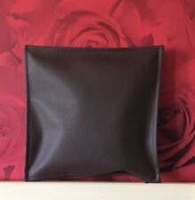 LUXURY BROWN  FAUX LEATHER FULL GRAIN  Cushion APPROX 12 X 12 inch 30cm