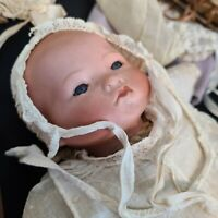 Adorable (a.m.) Armand Marseille Bisquebaby doll.