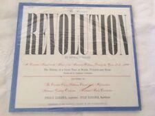 Richard Bales The American Revolution LP & Book Columbia SEALED