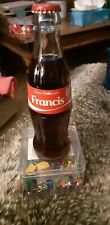 SHARE A COKE WITH FRANCIS UNOPENED GLASS BOTTLE 200ML