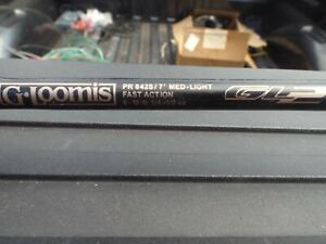 GLOOMIS  GL2 PR 842S 7' 6-12 lb rod in excellent condition
