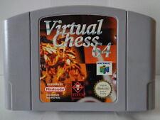 N64 Spiel - Virtual Chess 64 (PAL) (Modul)