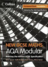 New GCSE Maths - Homework Book Foundation 1: AQA Modular,COLLINS EDUCATIONAL CO
