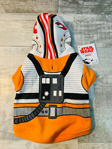 X-Wing Fighter Pilot Star Wars Small Dog Costume Outfit Petco Brand NEW