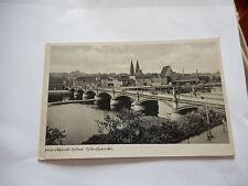Zweiter Weltkrieg (1939-45) Frankierte Echtfoto aus Deutschland für Brücke