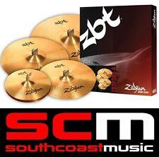 "RRP$750 Zildjian ZBT390 Cymbal Set 14"" Hi Hat 16"" Crash 20"" Ride 18"" Crash"