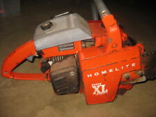 "Vintage Homelite Super XL Automatic Chainsaw with 20"" Bar"