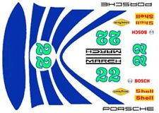 #22 Can Am Race Car graphics 1/64th HO Scale Slot Car Decals